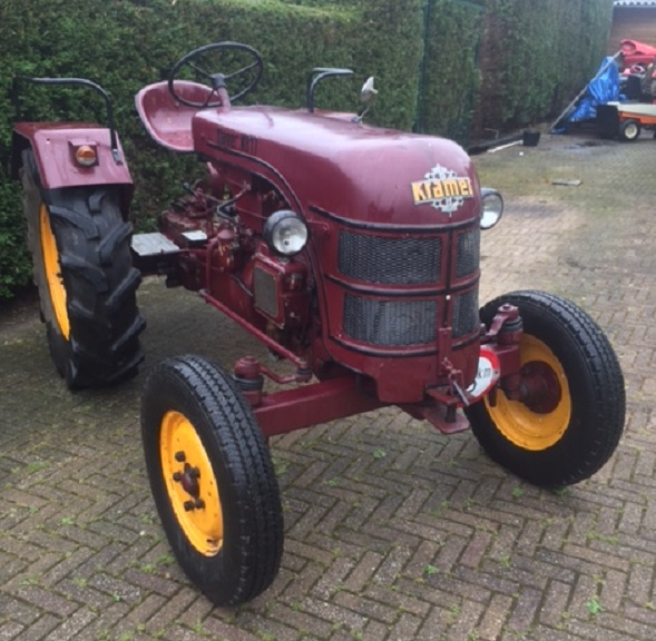 Verkocht mooie oldtimer kramer kb17 tractor met guldner for Tractor verlichting