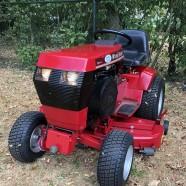 Verkocht!!! Wheel Horse 518H zitmaaier 2 cilinder 18pk hydrostaat met Hef