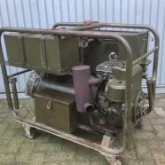 Verkocht!!! Oerdegelijke en nette B&S Tapper aggregaat 3,5kw bij 220v en 50hz, ex Nederlands leger