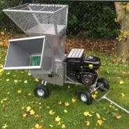 Pas binnen gekomen: Demo model Jansen GTS-13 hakselaar / versnipperaar met 13pk motor