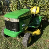 Verkocht!!! Mooie en goede John Deere LX279 watergekoelde 2 cilinder 17pk zitmaaier