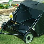 Veegwagens voor achter de zitmaaier of quad